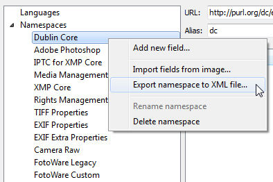 Changing the XMP Configuration