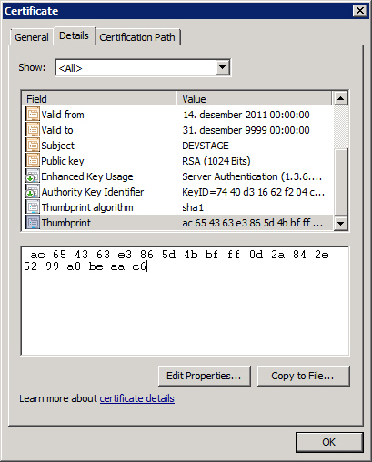 Securing communications with SSL